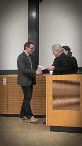 Verleihung des Lisa Lena Opas-Hänninen Young Scholar Prize